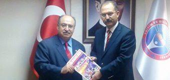 Eğitim-İş Sendikası Genel Başkanı Veli Demir'i Makamında Ziyaret Ettik.