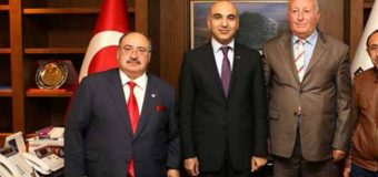 Bakırköy Belediye Başkanı Bülent Kerimoğlu'nu ziyaret ettik