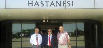 Cevdet Baştuğ, hasta ziyaretlerinde bulundu