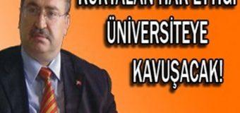 """Cevdet Baştuğ: """"Kurtalan Hak Ettiği Üniversiteye Kavuşacak"""""""