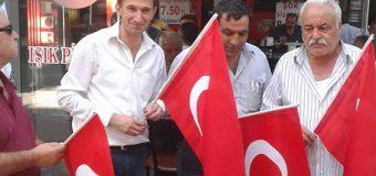 Kamuder 3000 Adet Türk Bayrağı Dağıttı.