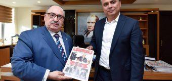Sayın Genel Başkanımız Cevdet Baştuğ Antalya'da Ziyaretlerde Bulundu.