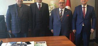 İçişleri Bakanı Müşaviri Sn. Fevzi Sevgili'yi Ziyaret.
