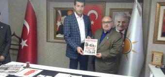 Çankaya Ak Parti İlçe Başkanı Ali Güven'i Ziyaret Ettik.