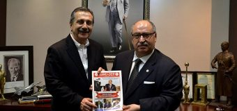 Eşkişehir Tepebaşı Belediye Başkanı Dr.Ahmet Ataç'ı ziyaret ettik.