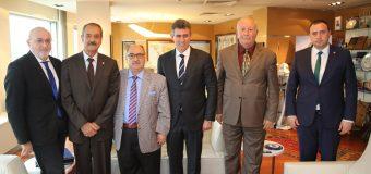 Türkiye Barolar Birliği Başkanı Av. Prof. Dr. Metin Feyzioğlu'na Hayırlı Olsun Ziyaretimiz.