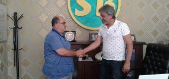 Kamu-Der Gayrimenkul Danışmanı Hasan Sarı Bey'i Ziyaret Etti.