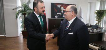 Sincan Belediye Başkanı Sn. Murat Ercan Bey'i Makamında Ziyaret Ettik.