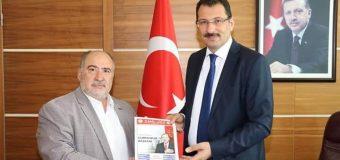 Başkanımızdan Ak Parti Seçim İşleri Başkanı Genel Başkan Yrd. Sakarya Milletvekili Sn. Ali İhsan Yavuz Bey'e Ziyaret.