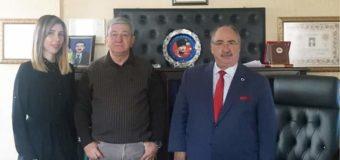 Kamu-der Danışma kurul ūyesi Av. M. Faruk Özer Bey'i ziyaret ettik.