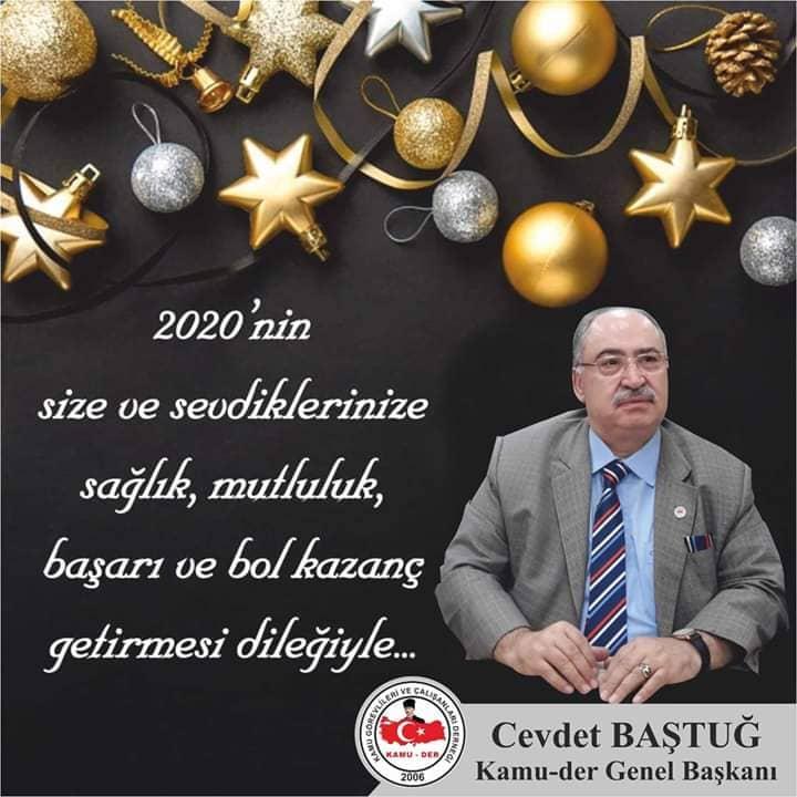Cevdet Baştuğ 2020 Yeni Yıl Mesajı