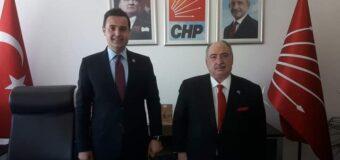Kamu Der Genel Başkanımız Cevdet BAŞTUĞ, CHP Genel Başkan Yrd. Ahmet AKIN ve CHP Kadın Kolları Genel Başkanı Aylin Nazlı AKA hanım efendiyi ziyaret