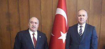 TCDD Taşımacılık A.Ş. Genel Müdürlüğüne atanan Hasan PEZÜK'e hayırlı olsun ziyaretinde bulunduk.