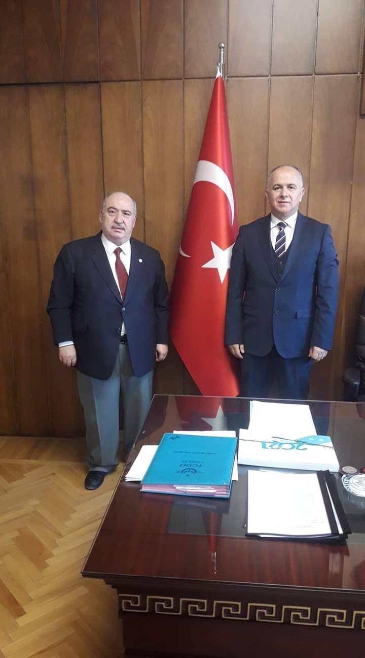 TCDD Taşımacılık A.Ş. Genel Müdürlüğü'ne atanan Hasan Pezük
