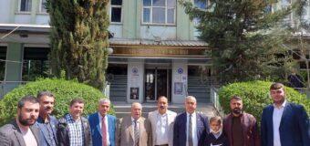 Kamu der Siirt il temsilcisi tanıtım toplantısı, Siirt öğretmen evinde yapıldı .